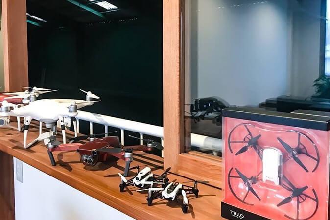 """熊本県内初となる、ドローンの導入相談と飛行訓練が可能な""""熊本ドローンフライトラボ(β)""""をプレオープン。"""