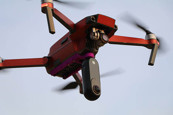 MavicPro + Insta360one(360°空撮対応)