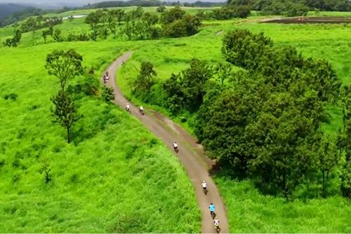 黒川温泉観光旅館組合 「黒川温泉 阿蘇の絶景サイクリンク゛」にて空撮を担当致しました。